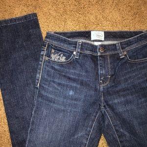 WHBM Blanc skinny jeans size 2 never worn NWOT